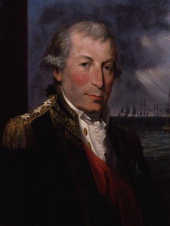 Portrait of John Jervis, c.1795