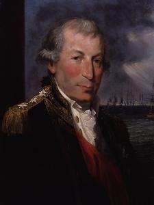 Portrait of John Jervis, c.1795 by Lemuel Francis Abbott
