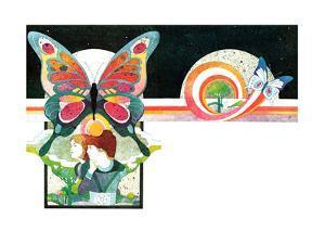 The Butterflies of Eden - Child Life by Len Ebert
