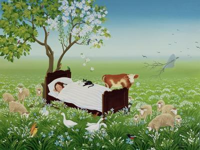 Lena's Dream-Magdolna Ban-Giclee Print