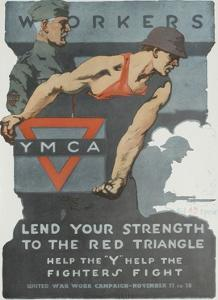 Lend Your Strength to the Red Triangle Poster