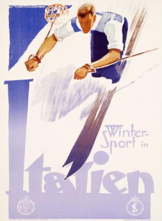 Winter Sports in Italy by Lenhart