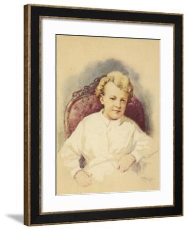 Lenin as a Child--Framed Giclee Print
