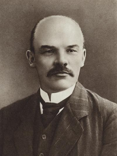 Lenin, Paris, 1910--Photographic Print