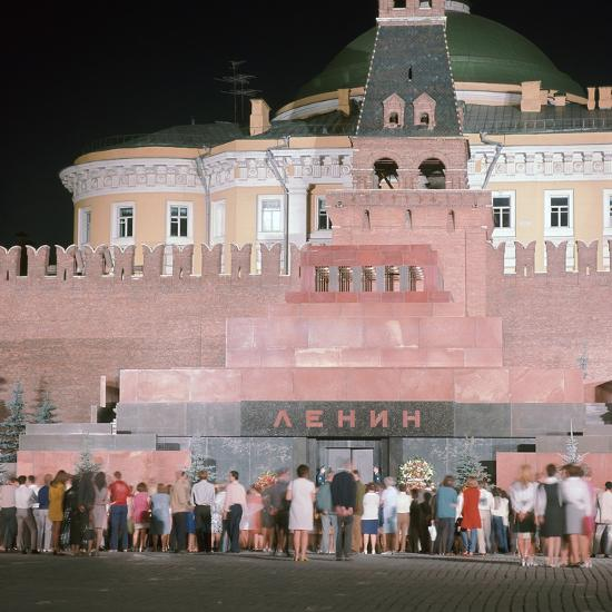 Lenin's Tomb. Artist: Unknown-Unknown-Photographic Print
