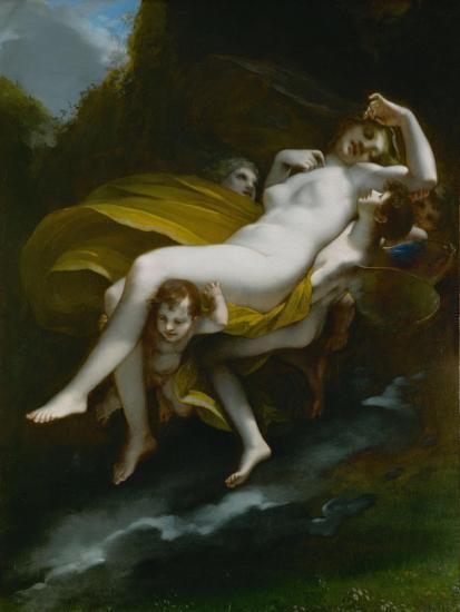 Lenlevement de Psyche-The abduction of Psyche, 1808-Pierre Paul Prud'hon-Giclee Print