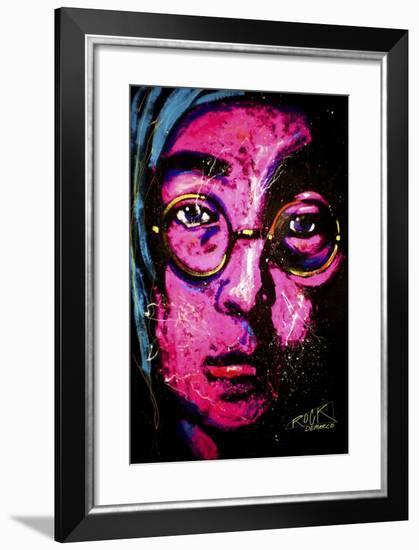 Lenon 001-Rock Demarco-Framed Giclee Print