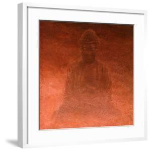 Red Buddha by Lente Louisa