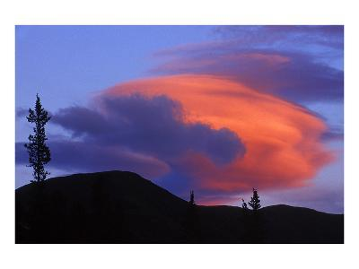 Lenticular Cloud-Mike Grandmaison-Art Print