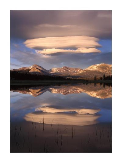 Lenticular Clouds, Tuolumne Meadows, Yosemite National Park, California-Tim Fitzharris-Art Print