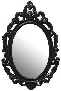 Leo Baroque Mirror - Black