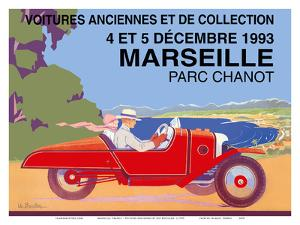 Marseille, France - Old Cars and Collectibles by Léo Bouillon