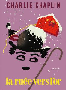 The Gold Rush (La Ruee vers l'or) - Starring Charlie Chaplin by Leo Kouper