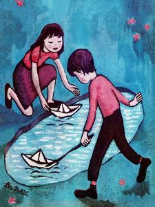 Paper Boats - Jack & Jill by Leo Politi