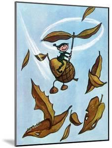 Riding the Wind - Jack & Jill by Leo Politi