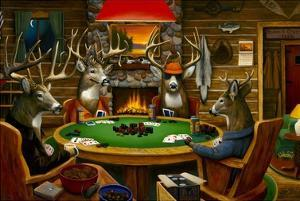 Deer Camp by Leo Stans