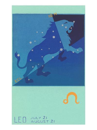 Leo, the Lion--Art Print