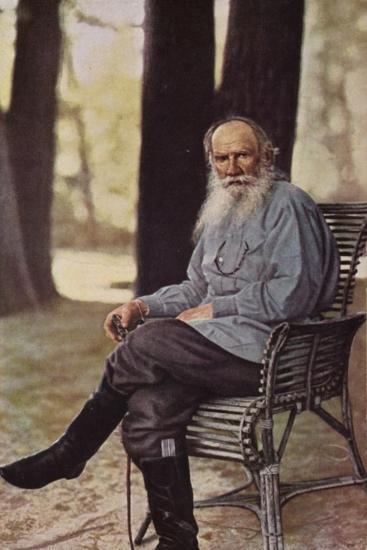 Leo Tolstoy (1828-1910), Russian Novelist, Short Story Writer and Playwright--Photographic Print