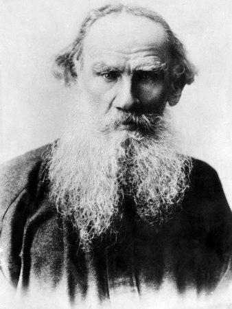 Leo Tolstoy, Russian Writer, Early 1900s--Photo