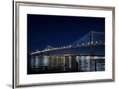 The Bay Lights - San Francisco Bay Bridge, Photograph by James Ewing