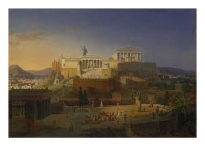 The Acropolis of Athens, 1846