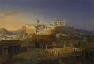 The Acropolis of Athens, 1846 by Leo Von Klenze
