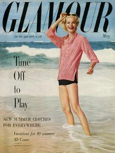 Glamour Cover - May 1954 by Leombruno-Bodi