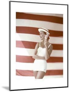 Glamour - July 1955 by Leombruno-Bodi