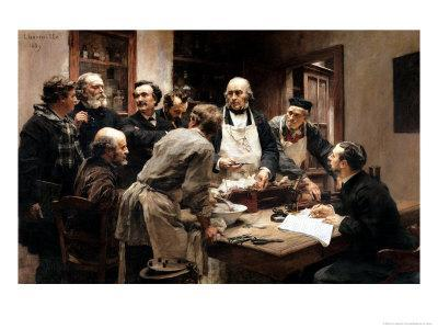 The Lesson of Claude Bernard (1813-78) Or, Session at the Vivisection Laboratory, 1889