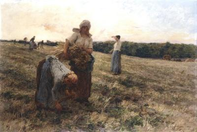 Gleaners at Sunset, 1889