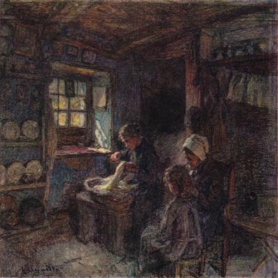 'Les Dentellieres', c1888