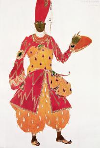 A Eunuch, from the Ballet 'Scheherazade', by Rimsky-Korsakov, by Leon Bakst