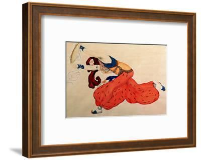 A Study for a Figure of a Dancer for Scheherazade