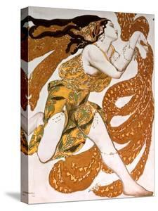 Bacchante, Costume Design for a Ballets Russes Production of Tcherepnin's Narcisse, 1911 by Leon Bakst