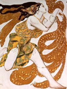 Bacchante, Costume Design for a Ballets Russes Production of Tcherepnin's Narcisse, 1911 by Leon Bakst
