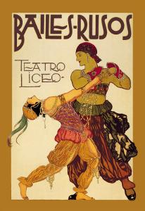 Bailes Rusuos by Leon Bakst