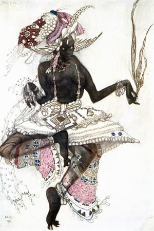 Bayadere' Costume Design for Le Dieu Bleu (The Blue Go), 1911