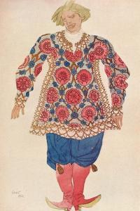 'Buffon Russe', 1924 by Leon Bakst