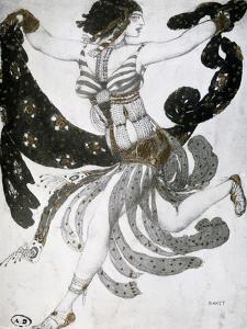 Cleopatra, Ballet Costume Design, 1909 by Leon Bakst