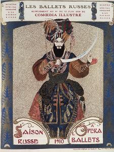 Comoedia Illustre: Les Ballets Russes, c.1910 by Leon Bakst