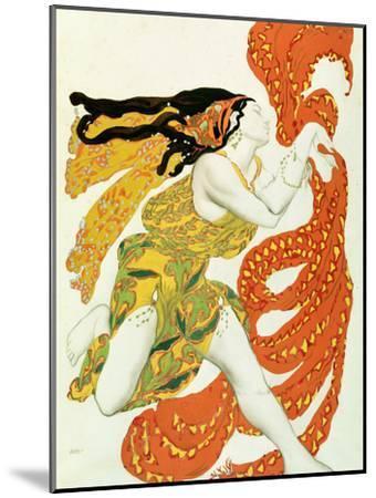 Vintage Ballet Poster Nijinsky in /'Narcisse/' in 1911