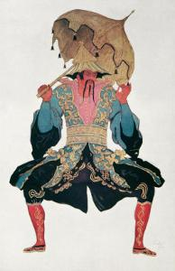 Costume Design For a Chinaman, from Sleeping Beauty, 1921 by Leon Bakst