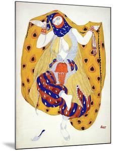 Costume Design for a Dancer in 'Scheherazade', a Ballet First Produced by Diaghilev by Leon Bakst