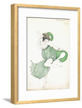 Costume Design for 'Bacchanale', Soloist Ballerina