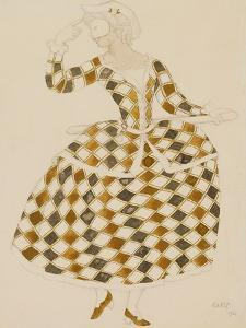 Costume Design for Columbine, from Sleeping Beauty, 1921 by Leon Bakst