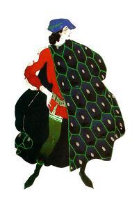 Costume Design for Gabriele D'Annunzio's Ballet 'The Martyrdom of St Sebastian, C1911 by Leon Bakst