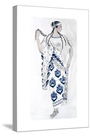 Costume Design for Ida Rubinstein as Helen in the Ballet Helen of Sparta, 1912
