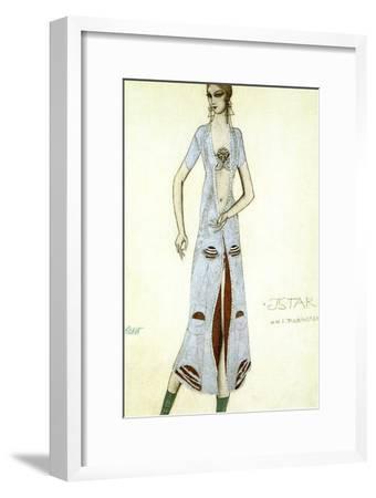 Costume Design for Ida Rubinstein as Ishtar, 1924