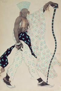 Costume Design for 'Le Pelerin' : Blue God, 1912 by Leon Bakst