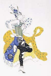 Costume Design for Madame Trouchanova in 'La Peri' by Leon Bakst